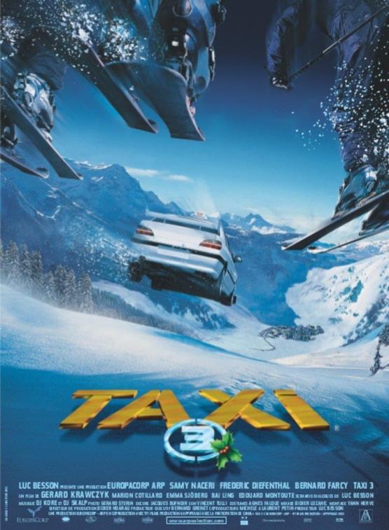 Comédie  Taxi 3