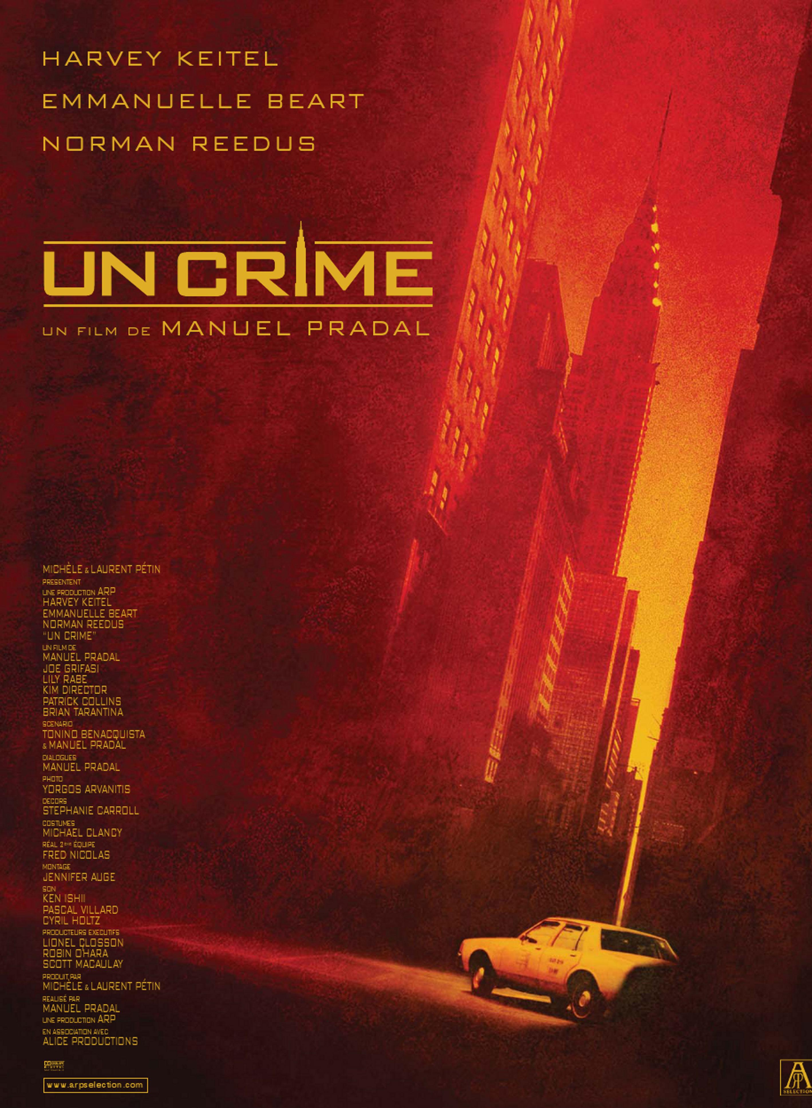 Thriller  Un crime