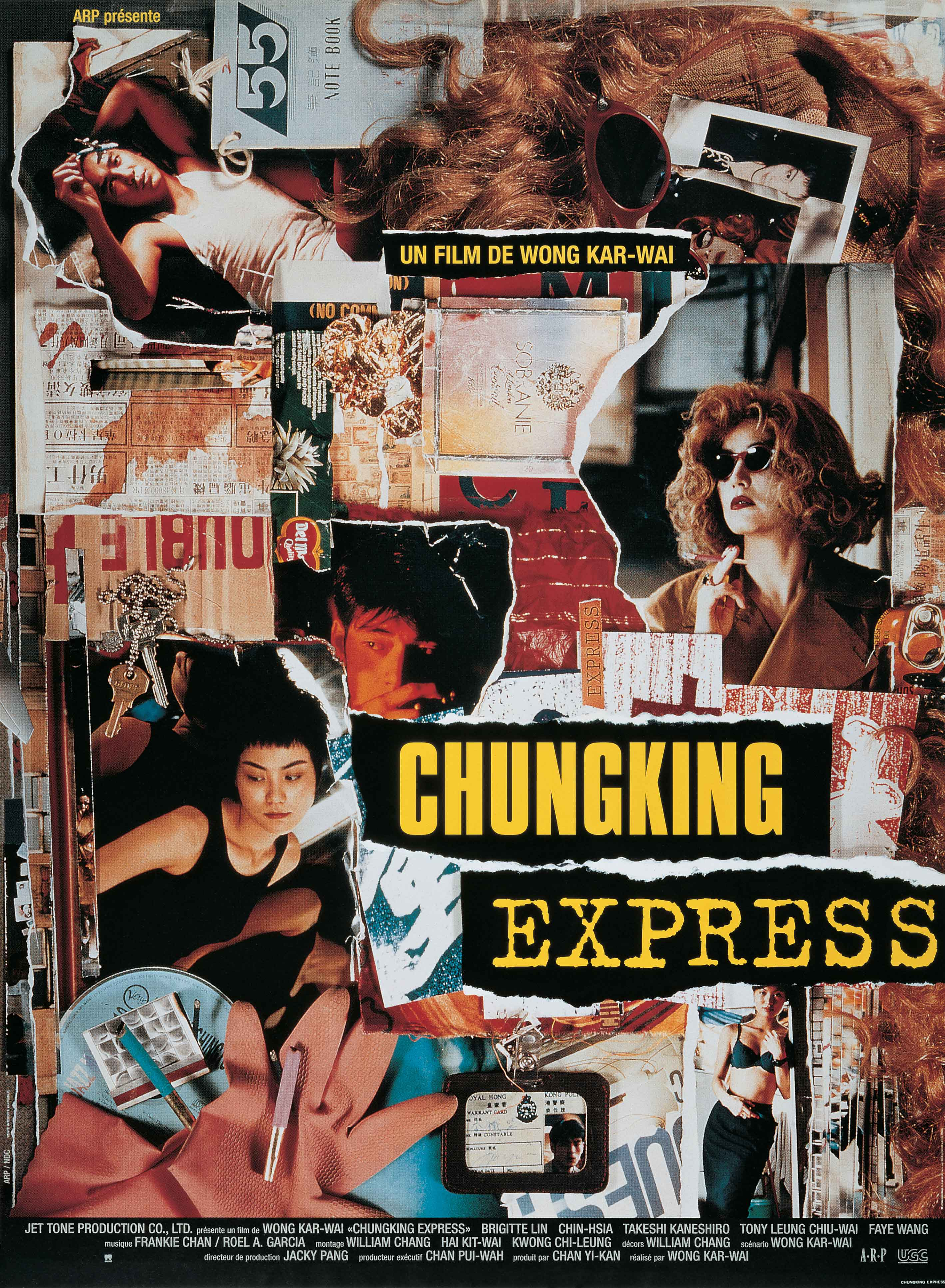 Comédie dramatique  Chungking express