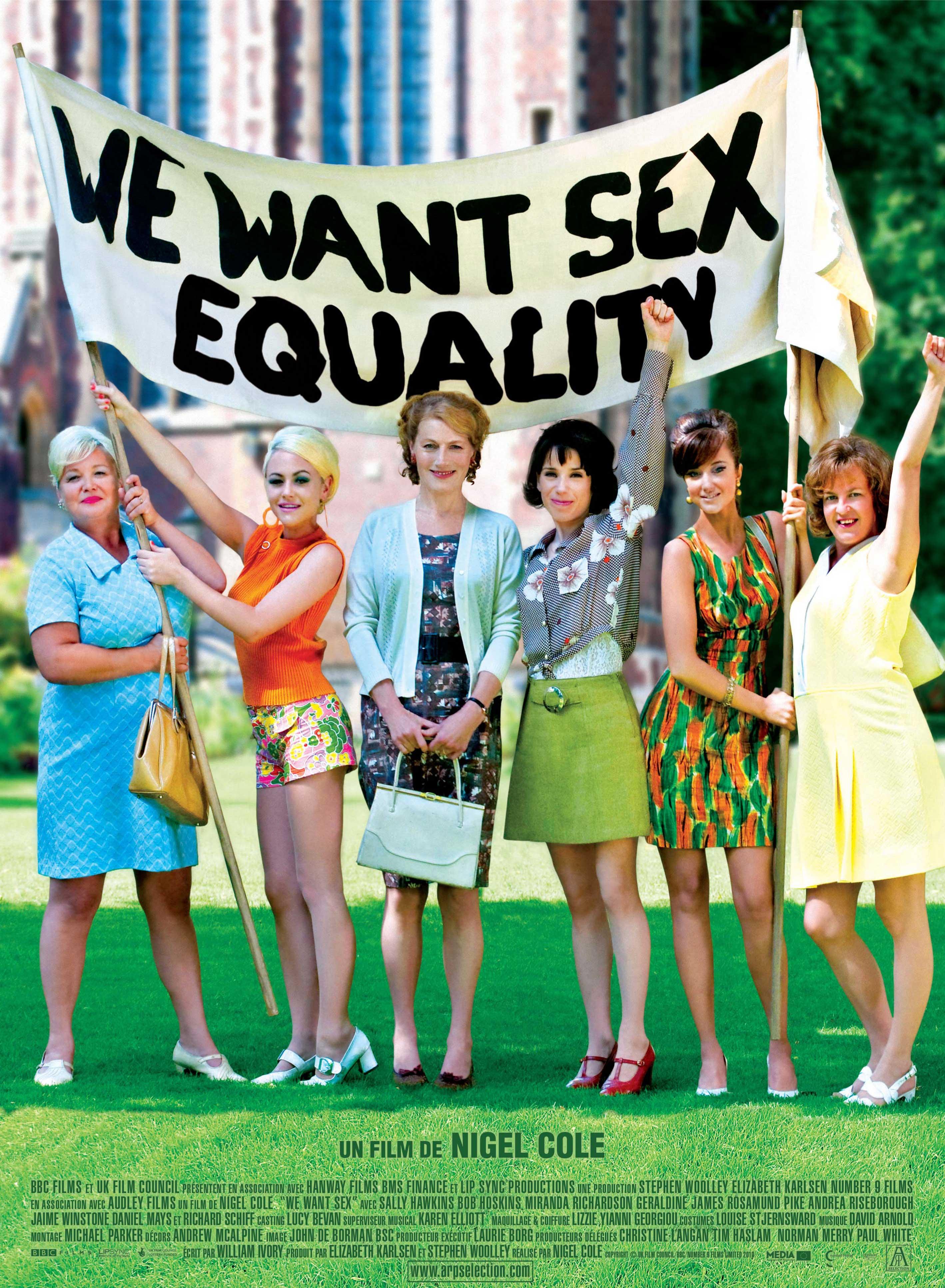 Comédie  We Want Sex Equality